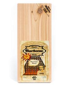 Axtschlag Rookplank Rode ceder (Red Cedar) XL 2 st. 400x170x13mm