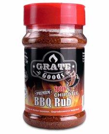 Spicy Chipotle BBQ Rub strooibus 180 g