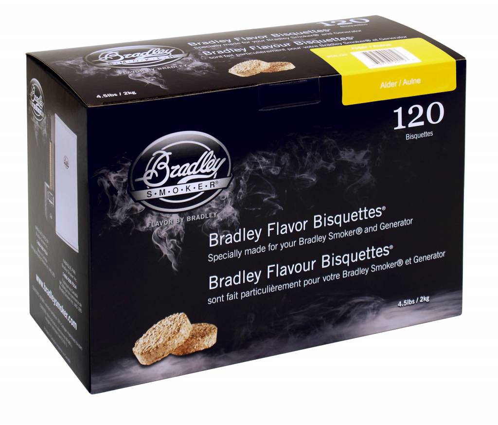 Bradley Smoker Bisquettes 120 pack