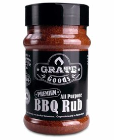 All purpose BBQ Rub strooibus 180 g