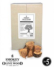 Smokey Olive Wood Amandelhout Chunks Nº5 -  5 kg