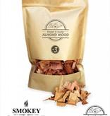 Smokey Olive Wood Smokey Olive Wood Amandelhout Chips Nº3 - 1700 ml