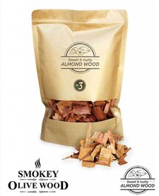 Smokey Olive Wood Amandelhout Chips Nº3 - 1700 ml