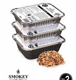 Smokey Olive Wood Smokey Olive Wood Smoking chips Nº2 EZ-Smoker (3x 400 ml)