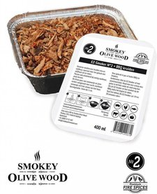 Smokey Olive Wood EZ-Smoker Nº2 Olijfhout +Vuurkruiden - 400 ml