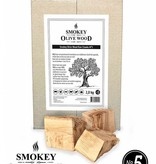 Smokey Olive Wood Smokey Olive Wood Raw Chunks Nº5 - 5 kg