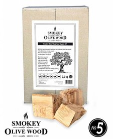 Smokey Olive Wood Raw Chunks Nº5 - 5 kg