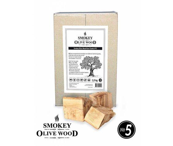 Smokey Olive Wood Smokey Olive Wood Raw Chunks Nº5 - 5 kg