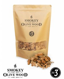 Smokey Olive Wood Smoking chips Nº3 - 1700 ml