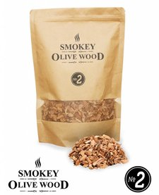 Smokey Olive Wood Smoking chips Nº2 - 1700 ml