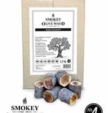 Smokey Olive Wood Smokey Olive Wood Chunks van de Steeneik Nº4 - 1,5 kg