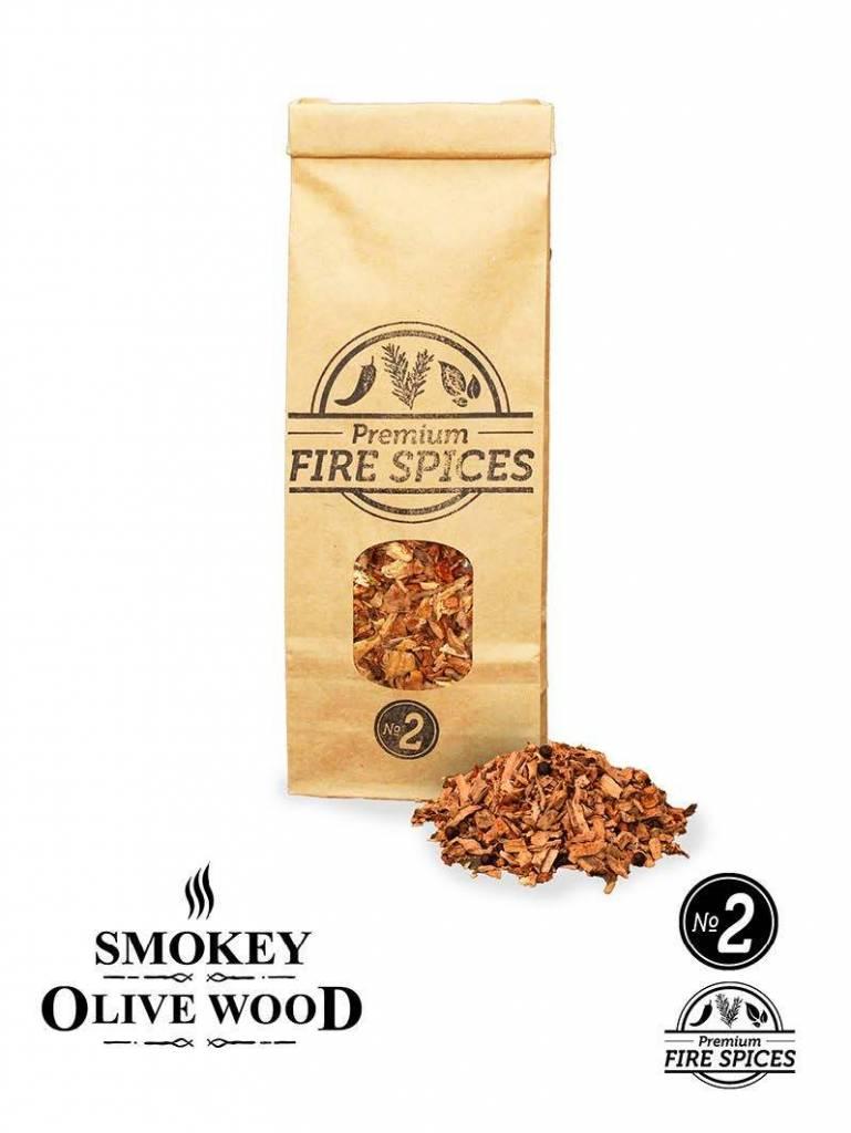 Smokey Olive Wood Smokey Olive Wood Nº2 + vuurkruiden - 500 ml