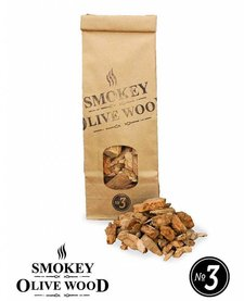Smokey Olive Wood Smoking Chips Nº3 - 500 ml
