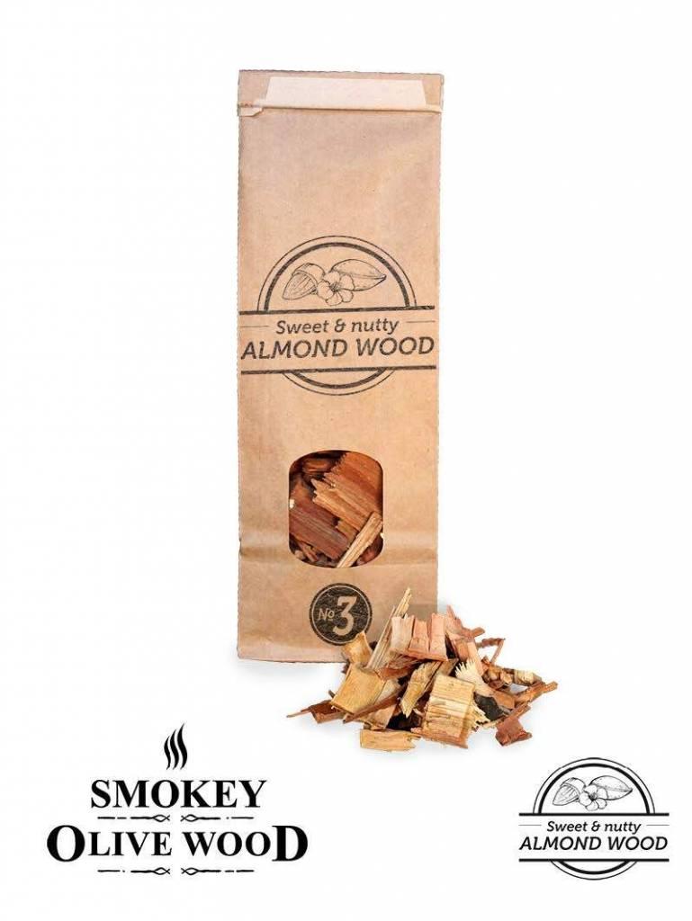 Smokey Olive Wood Smokey Olive Wood Amandelhout Chips Nº3 - 500 ml