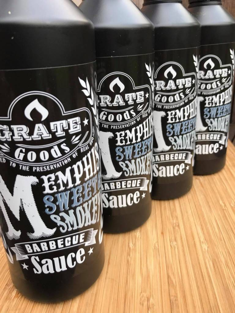 Grate Goods Memphis Sweet & Smokey Barbecue Sauce 265 ml