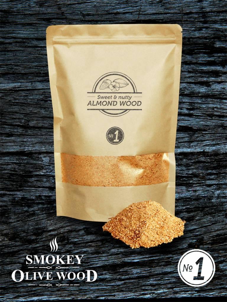 Smokey Olive Wood Smokey Olive Wood Rookmot Amandelhout - 1500 ml