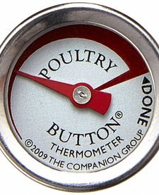 Charcoal Companion Poultry Button Thermometer single