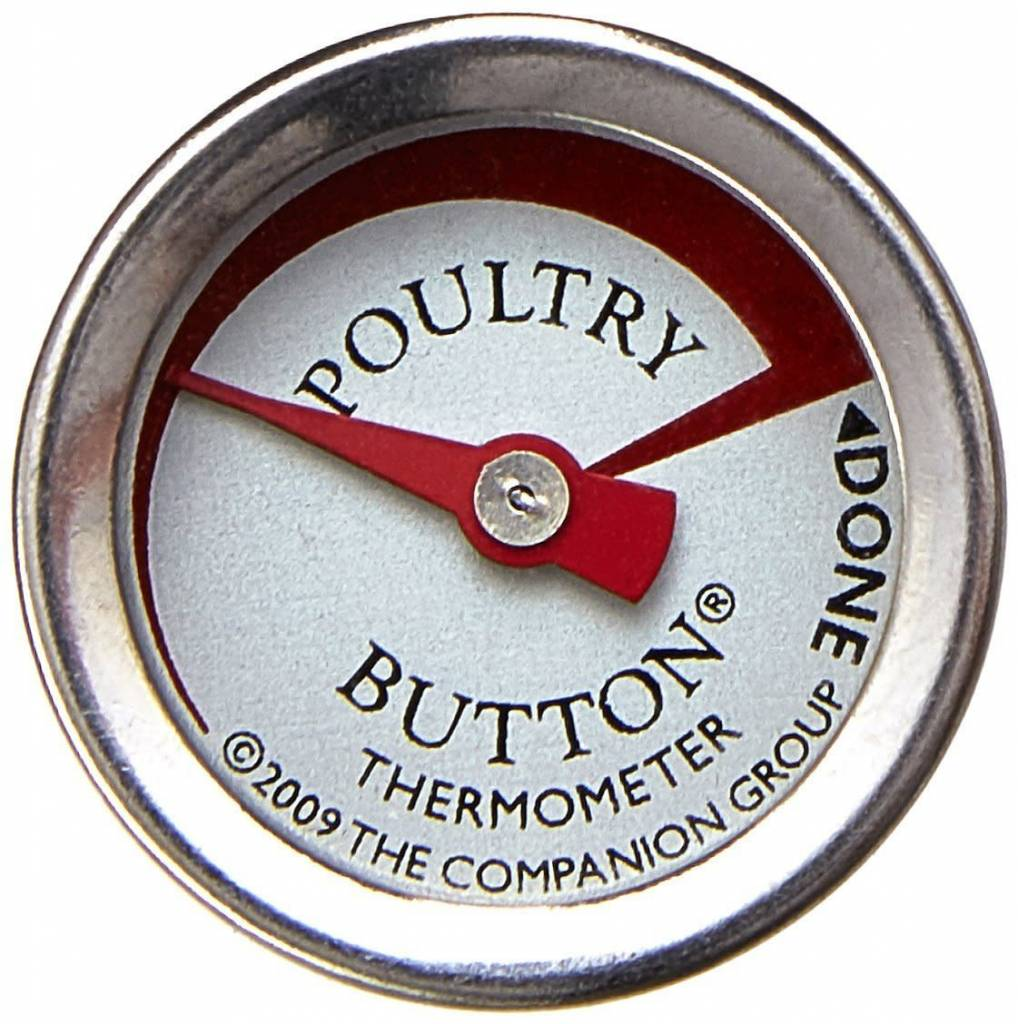 Charcoal Companion Charcoal Companion Poultry Button Thermometer single