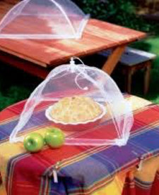 Charcoal Companion Nylon Food Tent Square Small / 16.9 in.