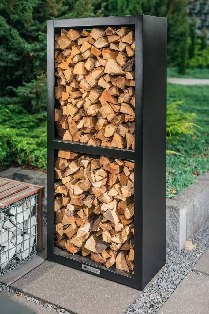Quan Garden Art Quadro Basic Hout Opslag Carbon