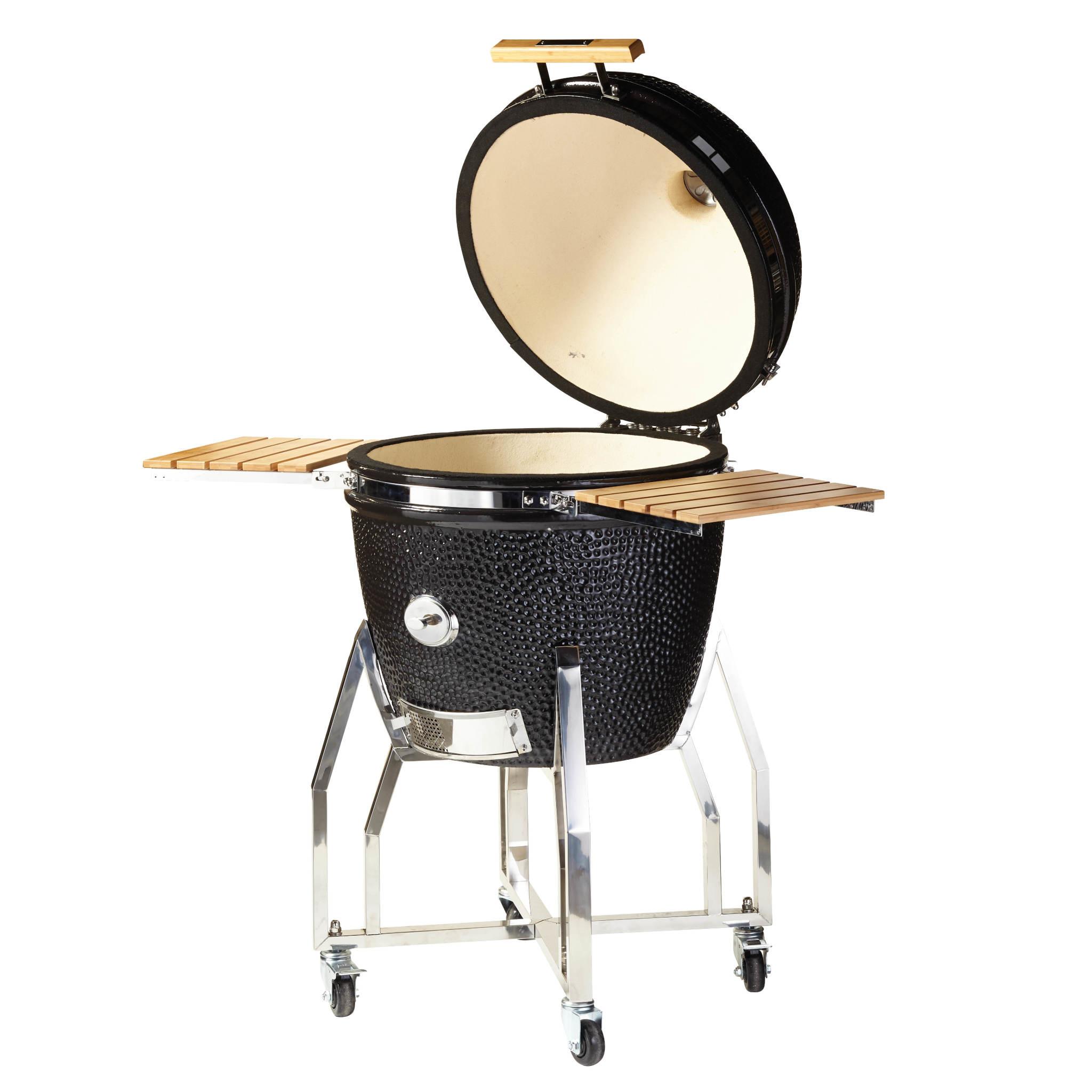 Yakiniku Barbecue Keramisch inclusief Onderstel en Zijtafel 19''