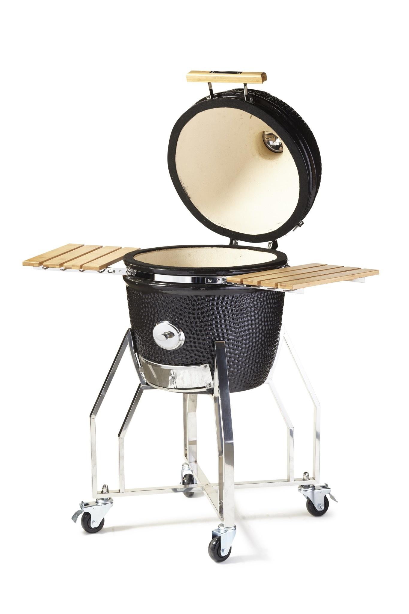 Yakiniku Barbecue Keramisch inclusief Onderstel en Zijtafel Set 16''