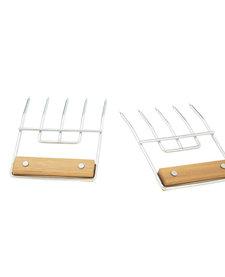 Vorken voor Pulled Pork Set met 2 Stuks