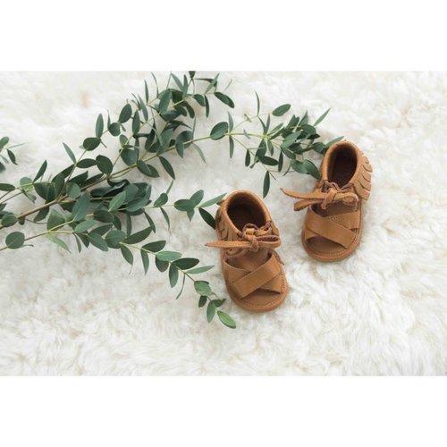 Mockies Boho sandal camel
