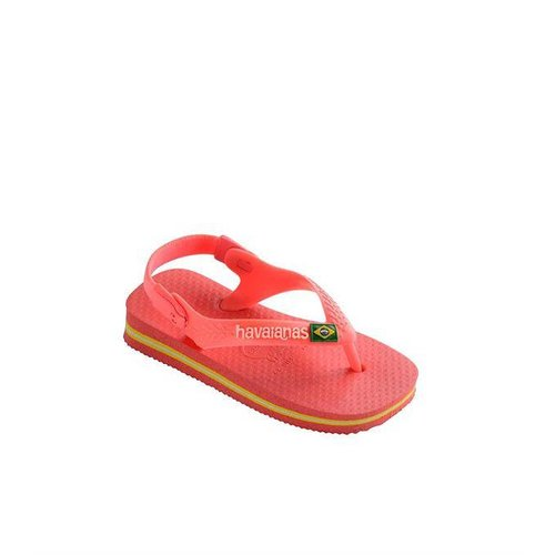 Havaianas BABY BRASIL LOGO | coral new