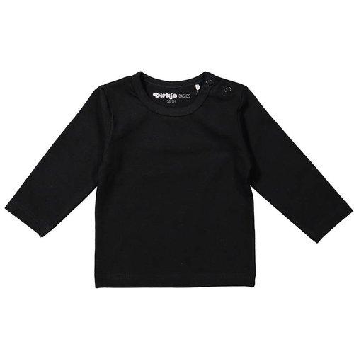 Dirkje Basic longsleeve | N50 zwart