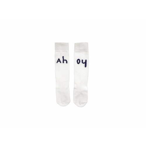 Sproet&Sprout KNEE SOCKS AHOY S18-672 | offwhite