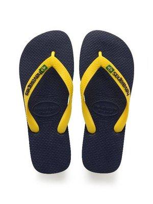 Havaianas BRASIL LOGO 4110850.850 | marine/yellow