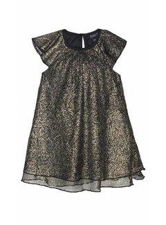 KIDS-UP BABY 6210561 DRESS | black/gold