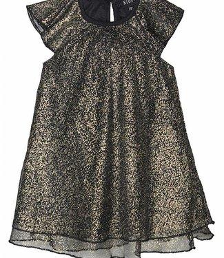 KIDS-UP 6210561 DRESS   black/gold