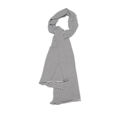 MINGO SCARF | b/w stripes