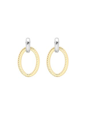EARRINGS GLAM BAM | gold/silver