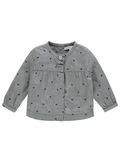 Noppies Blouse 84579 C245 light grey melange
