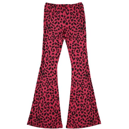 FLARED PANTS PANTER | rood
