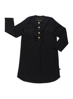 CarlijnQ tunic dress black denim BD26