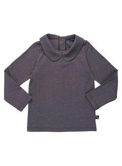 CarlijnQ collar longsleeve - dark grey BS87