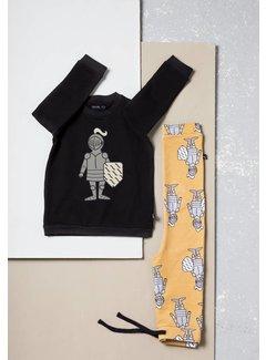 CarlijnQ sweater knighty print SS65