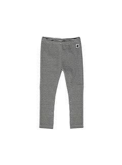 Sproet&Sprout Legging Black & Milk Stripe