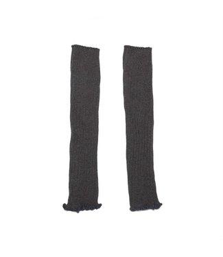 MINGO Legwarmer  Grey melange cotton/polyamide/elestan