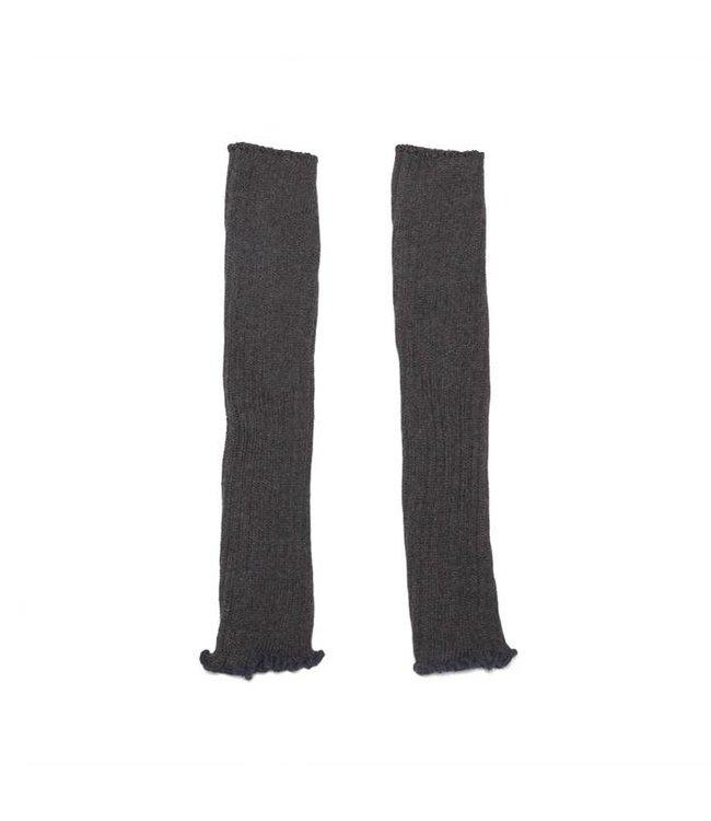Legwarmer  Grey melange cotton/polyamide/elestan