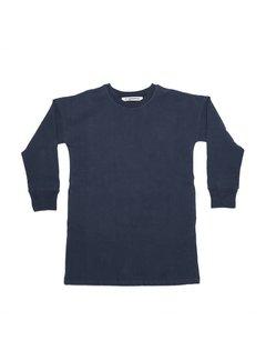 MINGO Sweater dress Black iris baby sweat