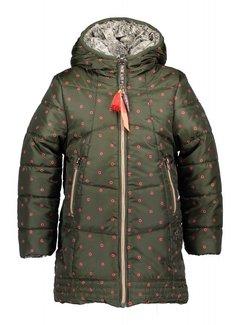 NoNo BirgitB long reversible jacket N807-5212   C300 army green