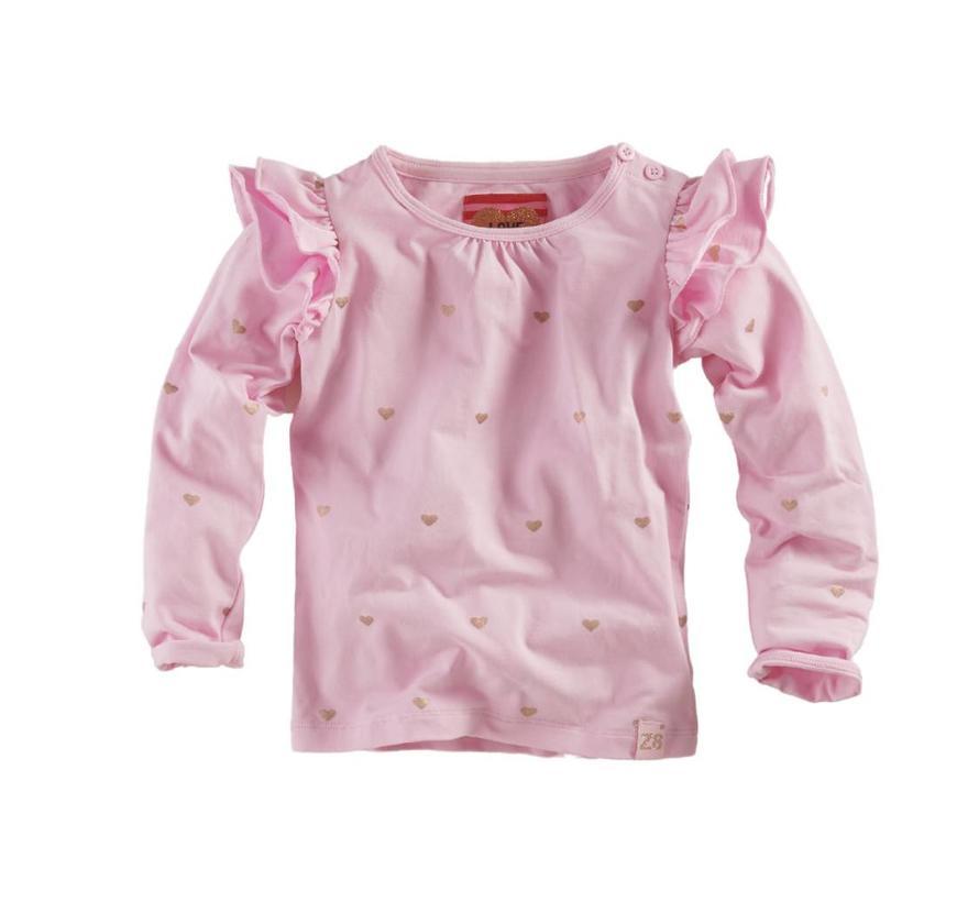 Manuela Powder pink/AOP
