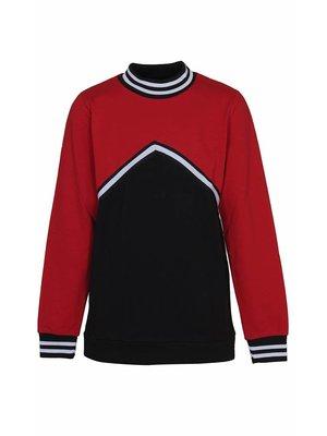 D-XEL knit blouse 4407517 | tango red