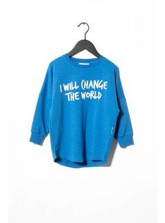 Sometime Soon Change Crewneck 70130383 | Blue