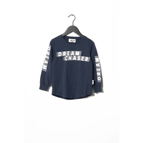 Sometime Soon Kelby L/S T-shirt 80130671 | Navy